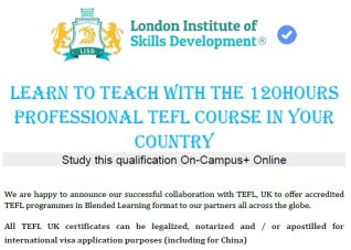 Программа TEFL для преподавателей